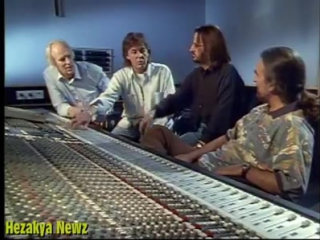 The Beatles reunion 1994 at Abbey Road studio...!!!