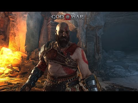 GOD OF WAR: Глава 8. МОЛОТ ТАМУРА. Боссы МАГНИ и МОДИ (PS4 Pro)