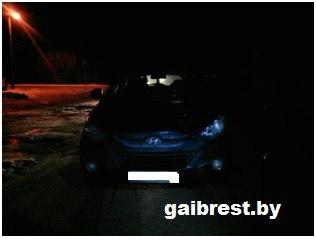 В Ивановском районе водитель Хундай сбил мужчину