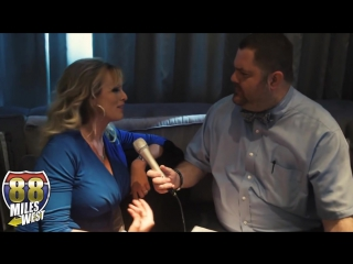 Stormy Daniels at the Adult Entertainment Expo