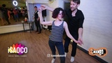Anna Melkova and Vlad Kuzmin Salsa Dancing in 100th 2mambo social, Sunday 13.05.2018
