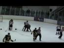 Массовая драка из канадской молодежной хоккейной лиги 😱👊