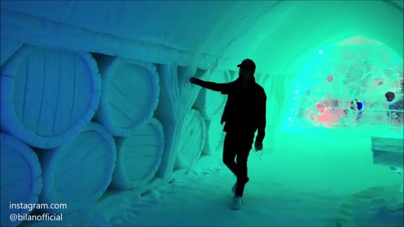 Дима Билан в Галерее ледовых скульптур в Апатитах, 18.04.2018
