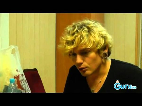 Интервью с Александром Кривошапко в Мариуполе 07.09.13