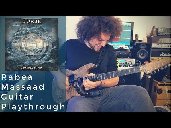 Dorje - Centered One Guitar Playthrough