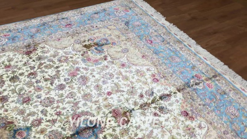 Carpet Persian Handmade Silk Afghan Rugs