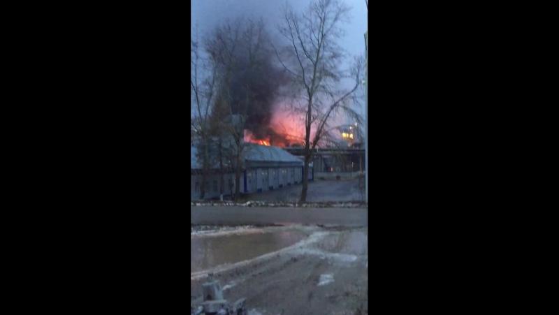 Пожар в Эжве