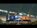 NCAAF 2017 / Week 12 / Virginia Cavaliers - (3) Miami Hurricanes / 18.11.2017 / EN