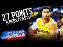 Josh Hart Full Highlights 2018.07.10 Lakers vs Knicks - 27 Pts, 6 Rebs, 3 Asts! | FreeDawkins