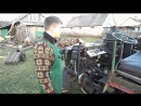 Газогенератор.Трактор на дровах. Wood Gas Tractor!
