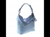 обалденная сумочка нежно голубого оттенка!