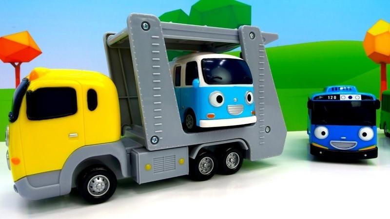 Erkek çocukları için video. Yardımcı araçlar Taşıyıcı ve diğer arabalar.