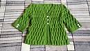 Жакет с имитацией втачного рукава на девочку 6-7 лет. МК.Вязание спицами.