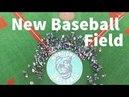 Inauguration du nouveau terrain de baseball de Montigny le Bretonneux