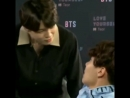 a compilation of Jimin being a chaotic flaming gay in American interviews