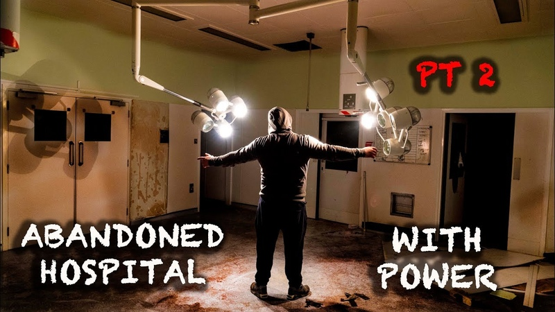 Exploring Massive Abandoned Hospital Power still On