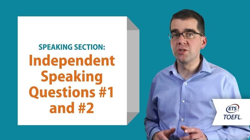 TOEFL® Speaking Questions 12 │Inside the TOEFL® Test