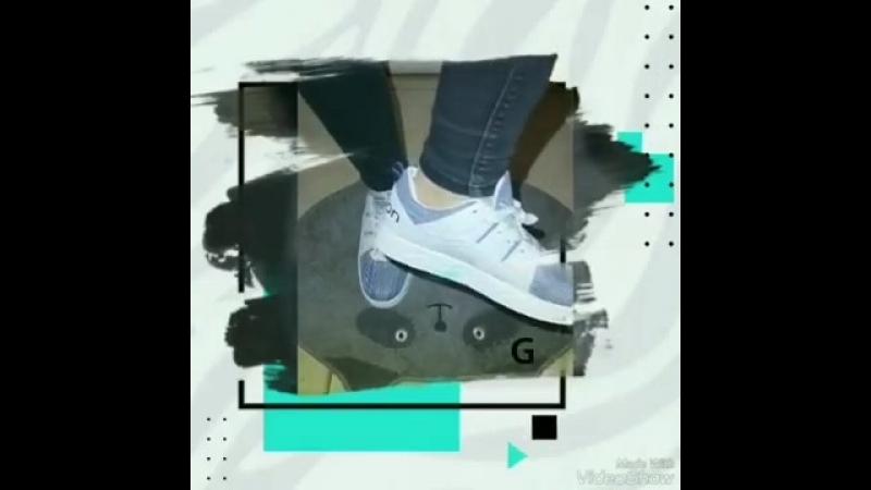 Тканевые кроссовки(Расцветки на стене)