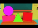Nursery Rhymes From Oh My Genius - the Shapes Song - shape song