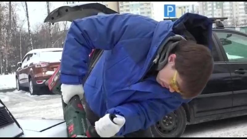 Как наказать неправильно паркующегося дебила: