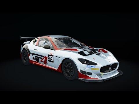SRS Nurburgring @ Maserati GranTurismo MC GT4 - LIVE ONBOARD
