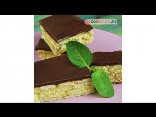 Торт-эклер без выпечки | Больше рецептов в группе Десертомания