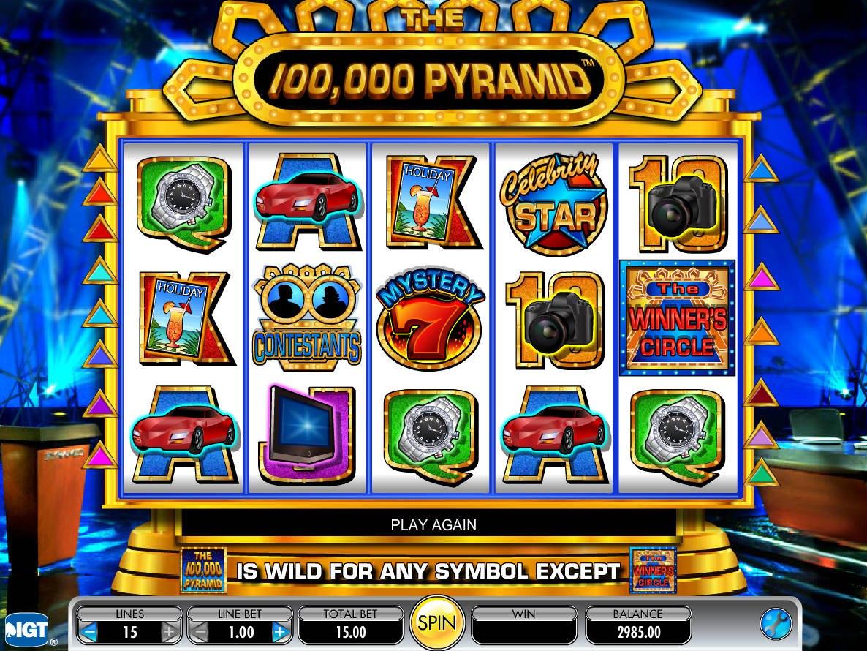 """Игра для слота """"$100,000 Pyramid"""""""