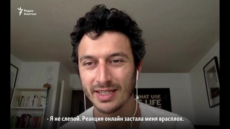 Radio Azattyq - В Алматы установили 15-метровую Белку, и...