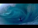 Сёрфинг - огромные волны Таити 2013
