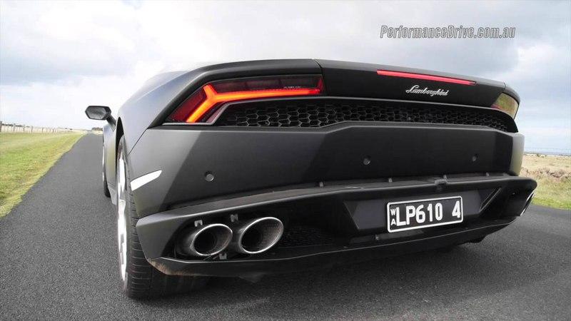 2015 Lamborghini Huracan 0-100kmh, 0-200kmh engine sound