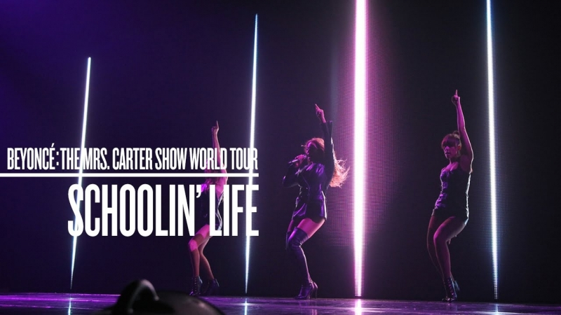 Beyoncé - Schoolin Life (Live at The Mrs. Carter Show World Tour)