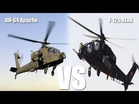 Boeing Apache Turkish ATAK Compete In Moroccan Helicopter Program