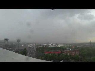 Наконец-то дождь в Калининграде! Давно не было XD
