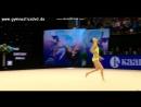 Айдана Сарыбай - обруч (финал) Miss Valentine - Тарту, Эстония, 15-18.02.18