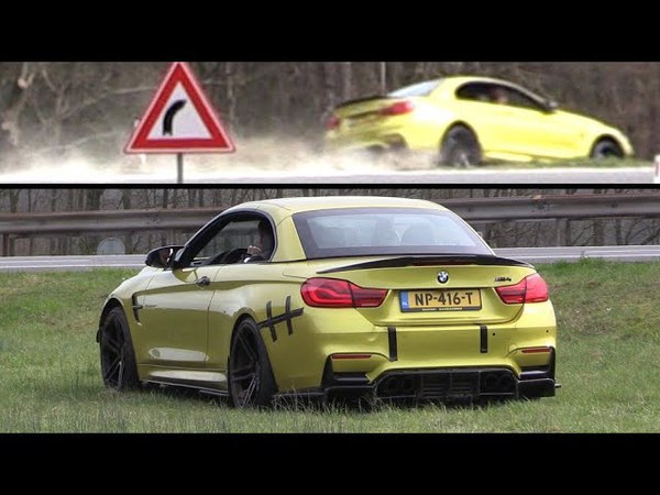 BMW M4 F83 CRASH and Fixed With Duct Tape