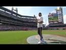 Ben Simmons First Pitch © NBC Sports Philadelphia