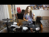 Sing Me To Sleep - Drum Cover by The Happy Drummer - Alan Walker feat. Iselin Solheim (live_Remix)