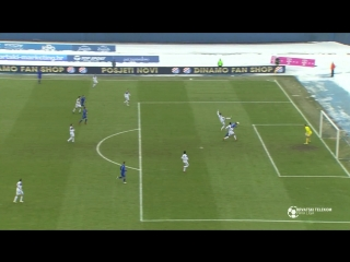 Dinamo - Slaven Belupo 1-0, sazetak (HNL 24. kolo), 04.03.2018. Full HD