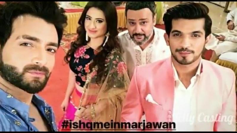 Ishq Mein Marjawan Offscreen Masti On Set _ Aaliaha Panwar Arjun bijlani _ Dee