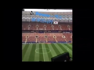 Bts Fake Love , EXO Power played at FIFA World Cup 2018