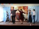 Танец учителей на 8-е марта
