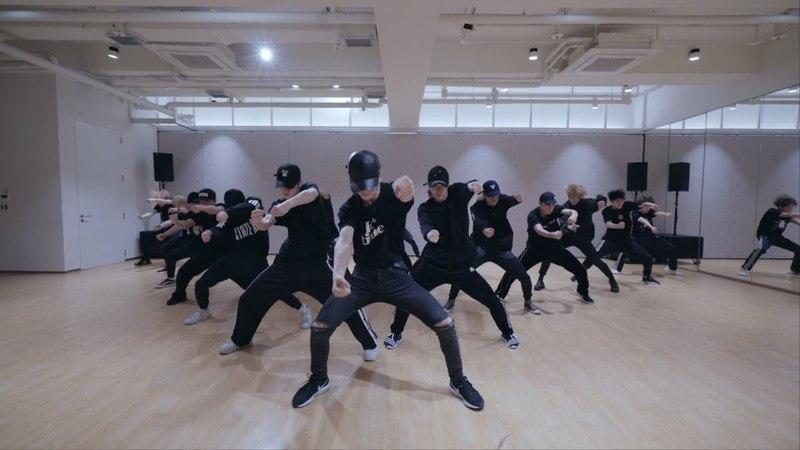 NCT 2018 - Black on Black (Dance Practice)