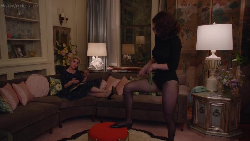 Рэйчел Броснахэн Rachel Brosnahan в сериале Удивительная миссис Мейзел The Marvelous Mrs Maisel 2017 s01e01 1080p