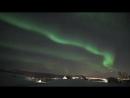Аврора в Норвегии 22 января 2018