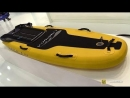 2018 Lampuga Air Inflatable Electric Surf Board - Walkaround - 2018 Boot Dusseldorf Boat Show