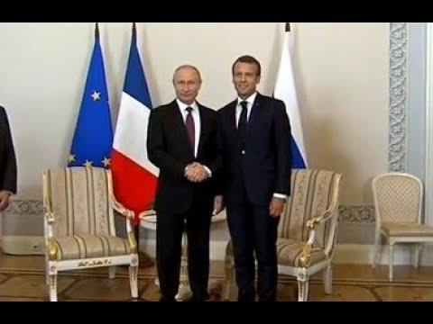 Мой ДРУГ Владимир! Первое совместное ЗАЯВЛЕНИЕ Путина и Макрона. СРОЧНО!