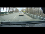 Очередной автохам на Кадиллаке г_н Х864НА 177. Ульяновск 20.04.2018