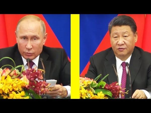 США в БЕШЕНСТВЕ Путин и Си Цзиньпин сделали СРОЧНОЕ заявление по ИТОГАМ переговоров в Пекине