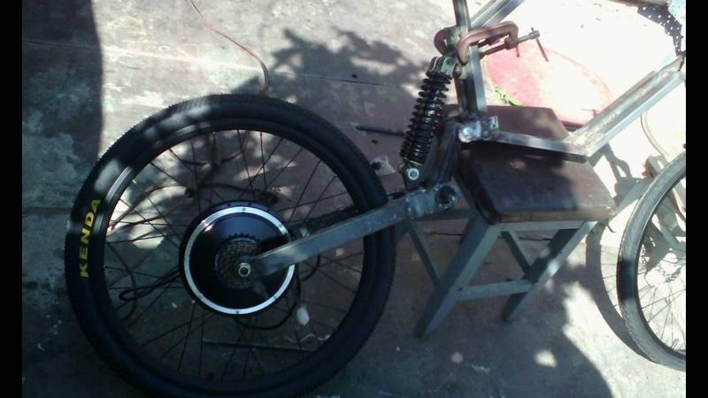 рама для электро велосипеда из металлолома часть 1