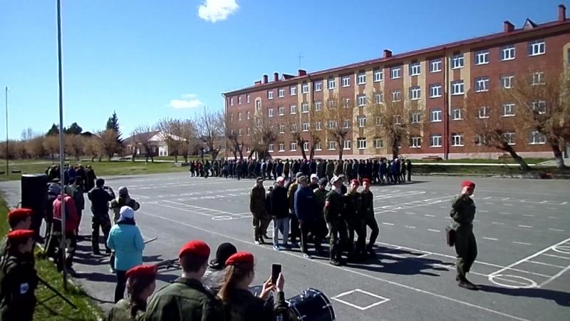 Парад курсантов 10 класса